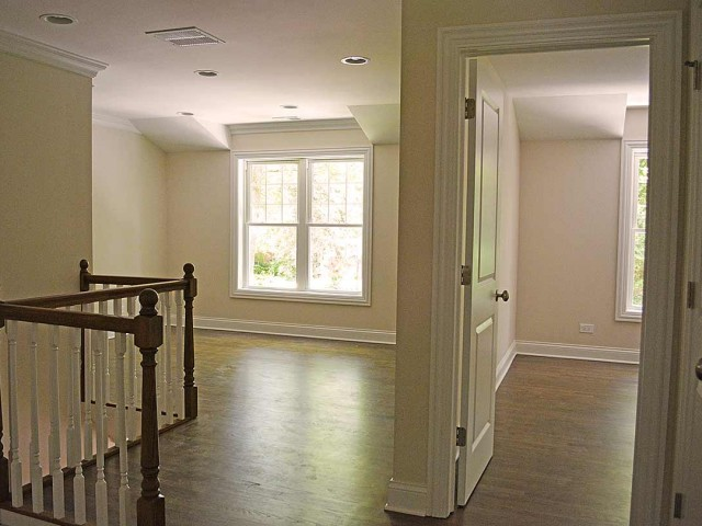 View of second floor at stairs