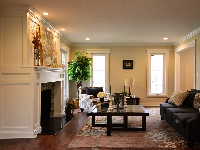 Highland Park - Living Room